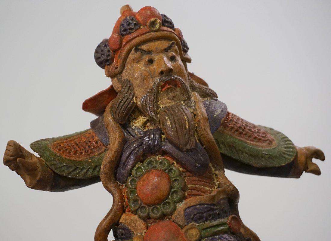 Oriental Asian Figurine Boxed Statue - 3