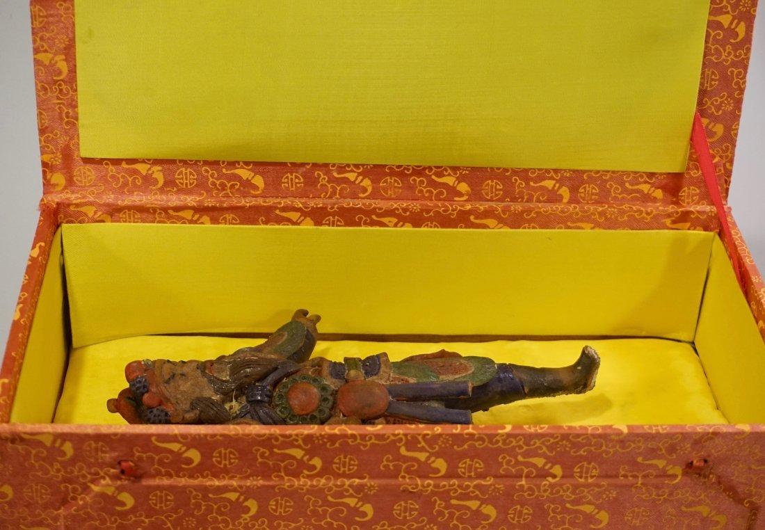 Oriental Asian Figurine Boxed Statue - 7