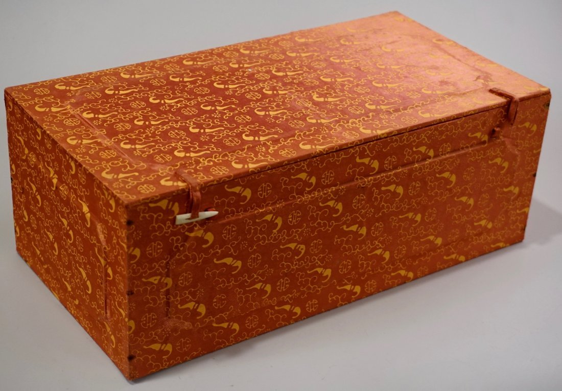 Oriental Asian Figurine Boxed Statue - 8