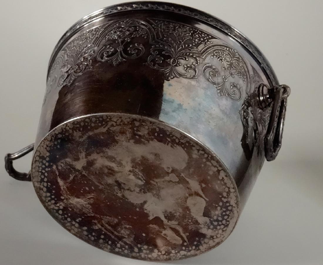 Antique Wilcox International Silver Plate Ice Bucket - 4