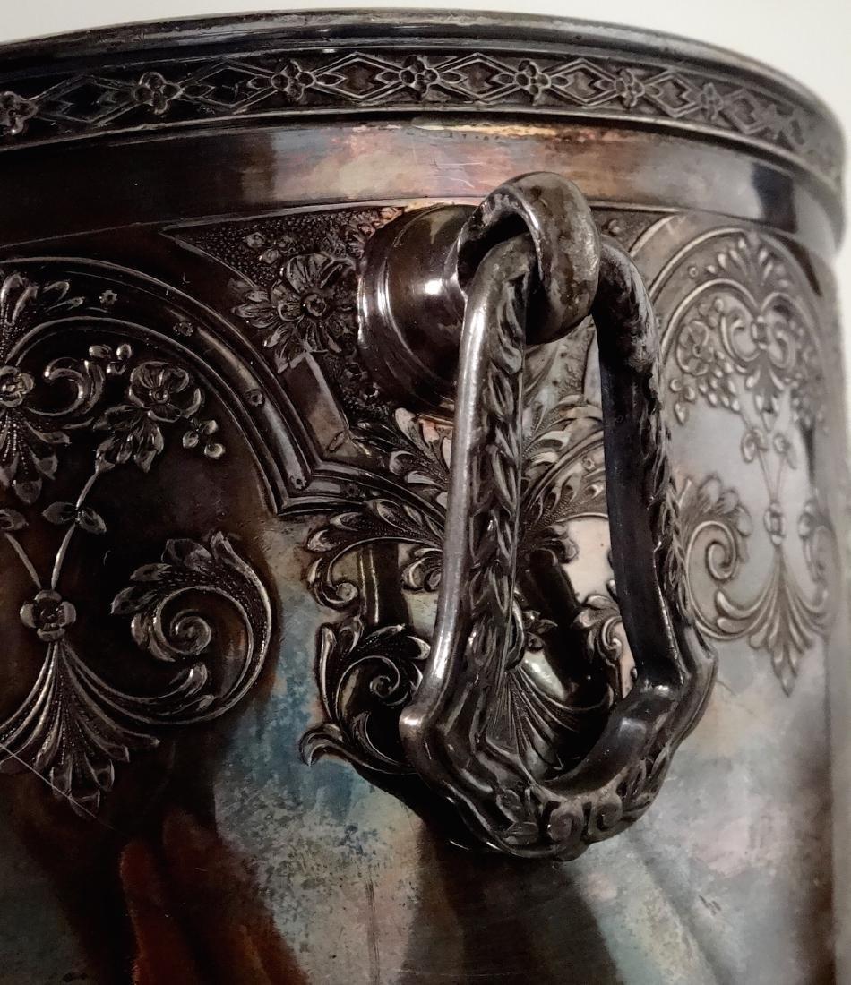 Antique Wilcox International Silver Plate Ice Bucket - 5