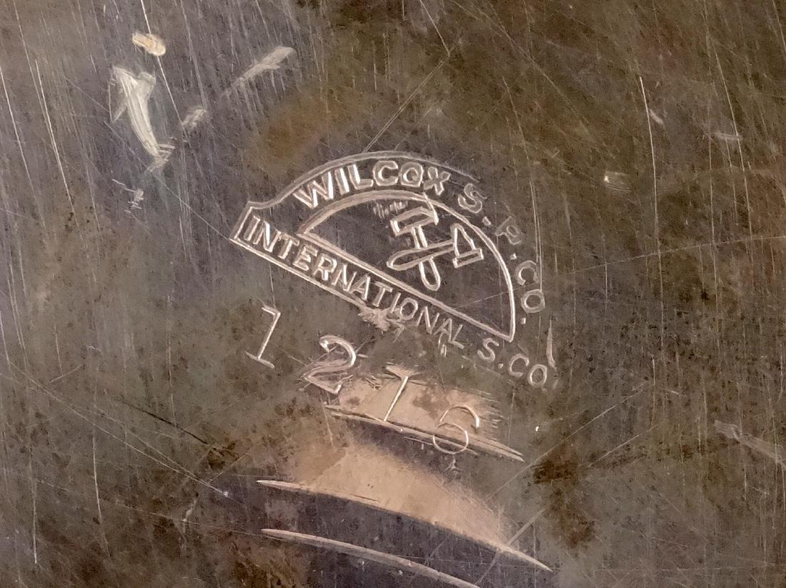 Antique Wilcox International Silver Plate Ice Bucket - 6
