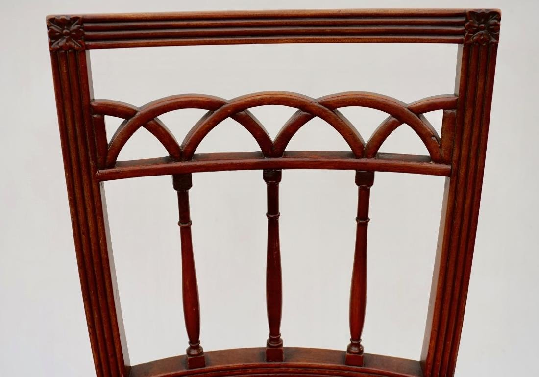 Antique Upholstered Side Chair - 6