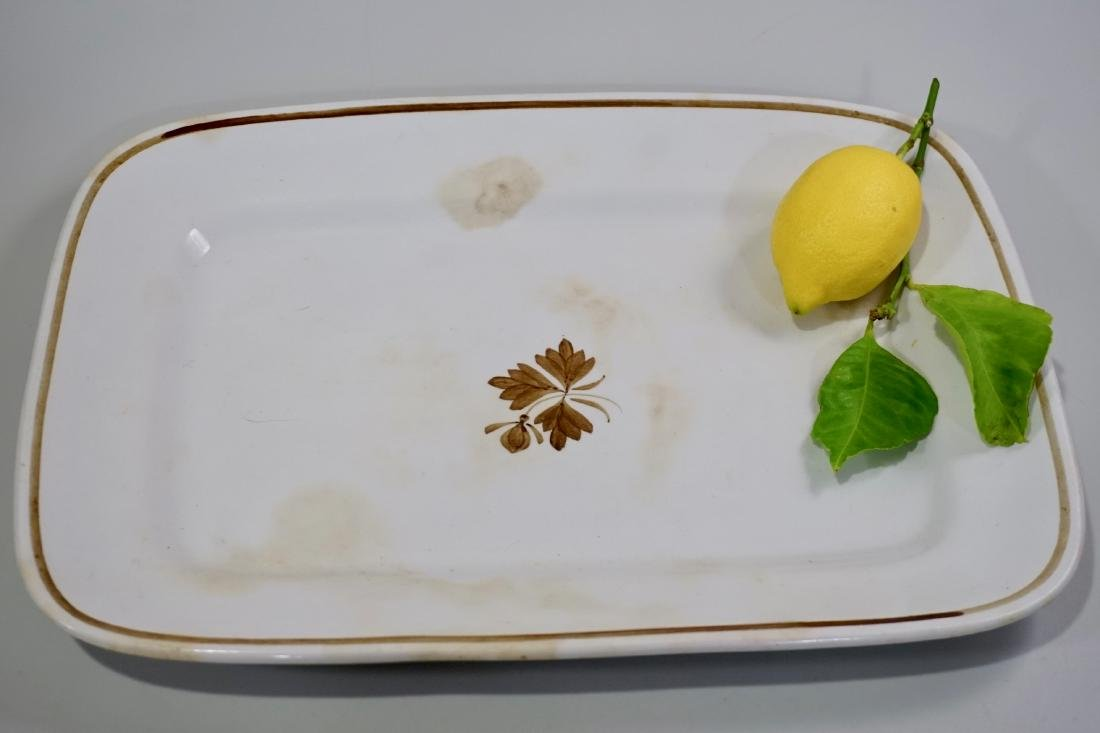 Alfred Meakin Royal Ironstone China Tea Leaf Platter