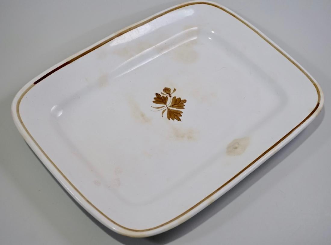 Alfred Meakin Royal Ironstone China Tea Leaf Platter - 2