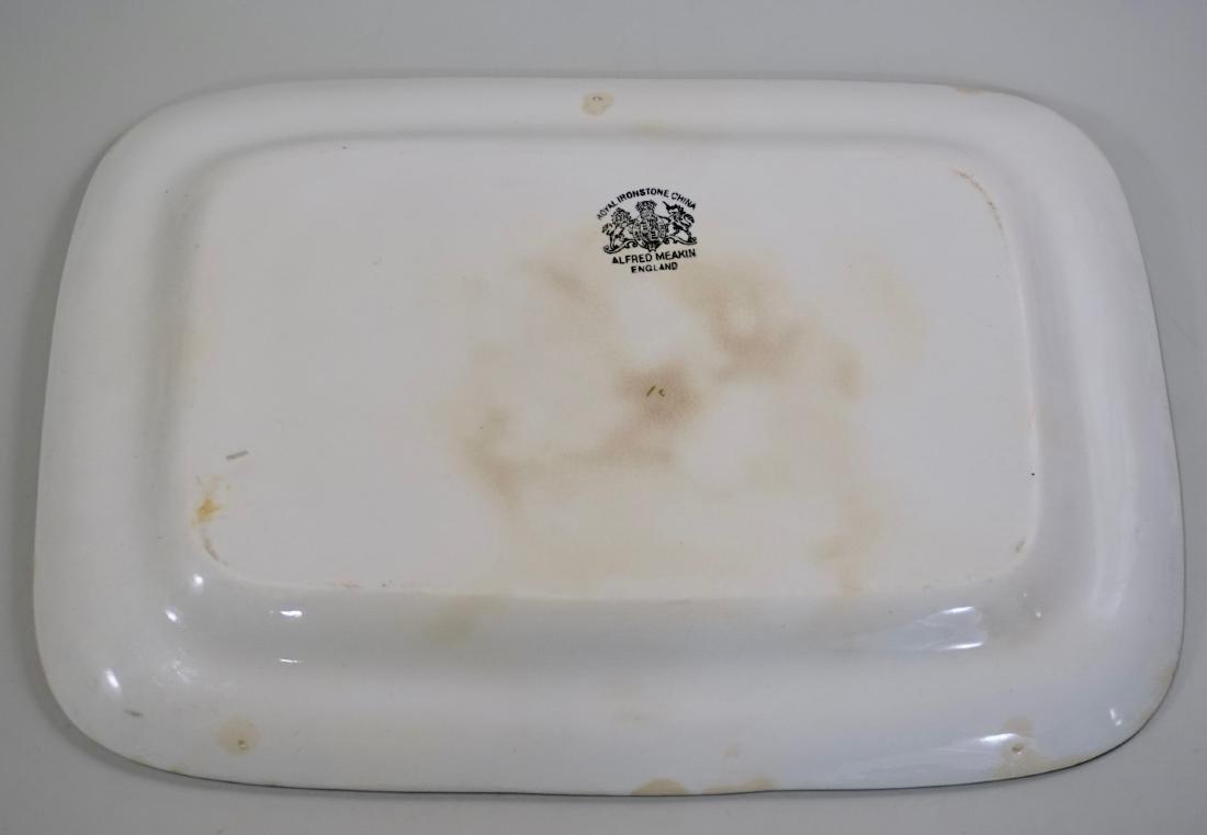 Alfred Meakin Royal Ironstone China Tea Leaf Platter - 5