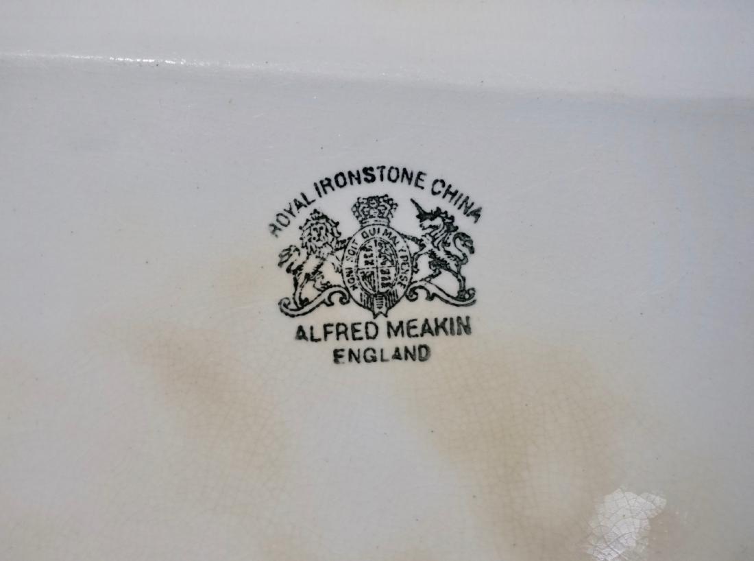 Alfred Meakin Royal Ironstone China Tea Leaf Platter - 6