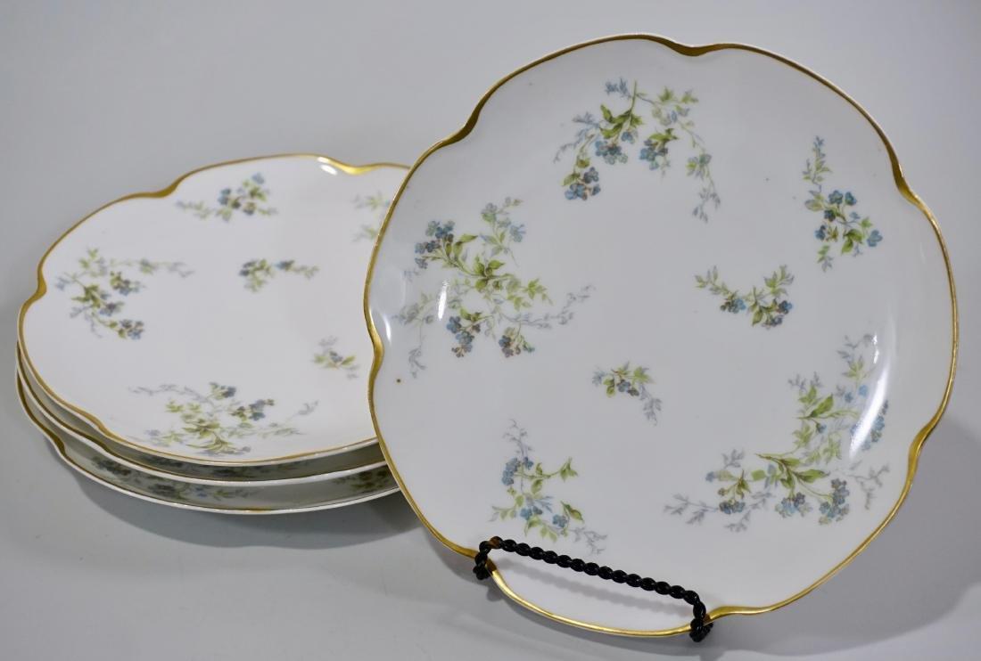 Haviland Limoges Antique Luncheon Plate Lot of 4 Plates
