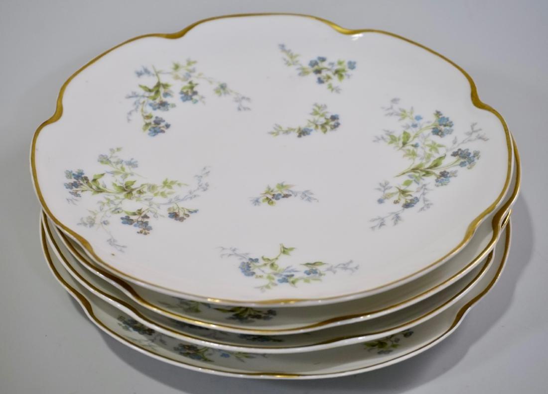 Haviland Limoges Antique Luncheon Plate Lot of 4 Plates - 2