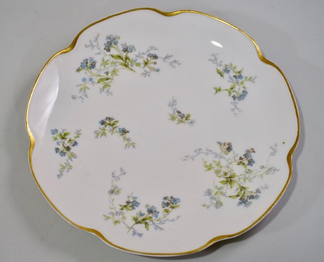 Haviland Limoges Antique Luncheon Plate Lot of 4 Plates - 3