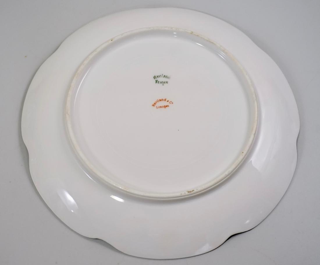 Haviland Limoges Antique Luncheon Plate Lot of 4 Plates - 5
