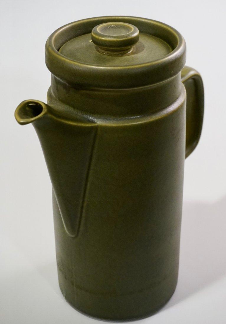 Wedgwood Greenwood Earthware Oven to Table Coffee Pot - 2