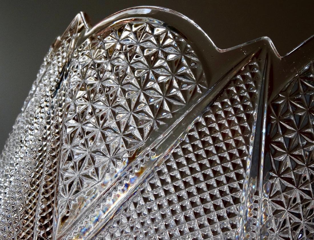 Vintage Pressed Glass Ice Bucket - 4