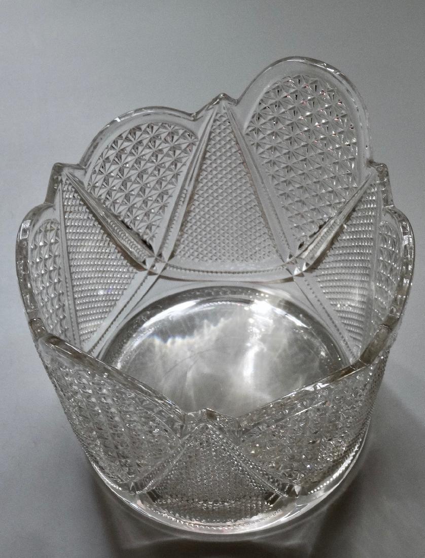 Vintage Pressed Glass Ice Bucket - 5