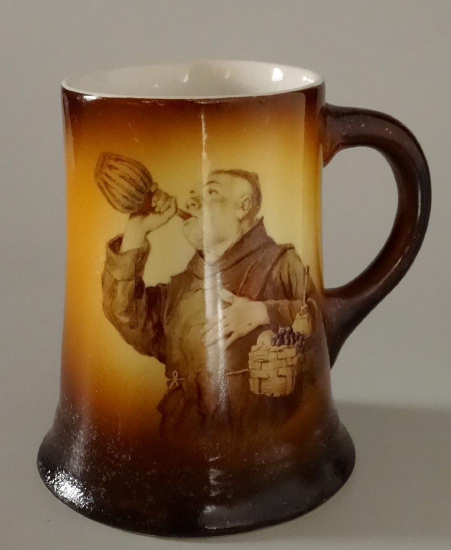 Vintage Monk Wine Mug Beer Stein Warwick Ioga China