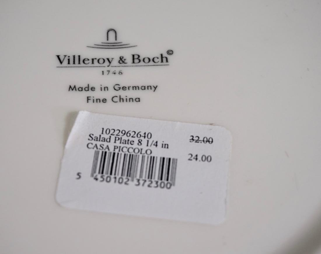 Villeroy Boch Fitz Floyd Plate Collection Lot of 5 - 10