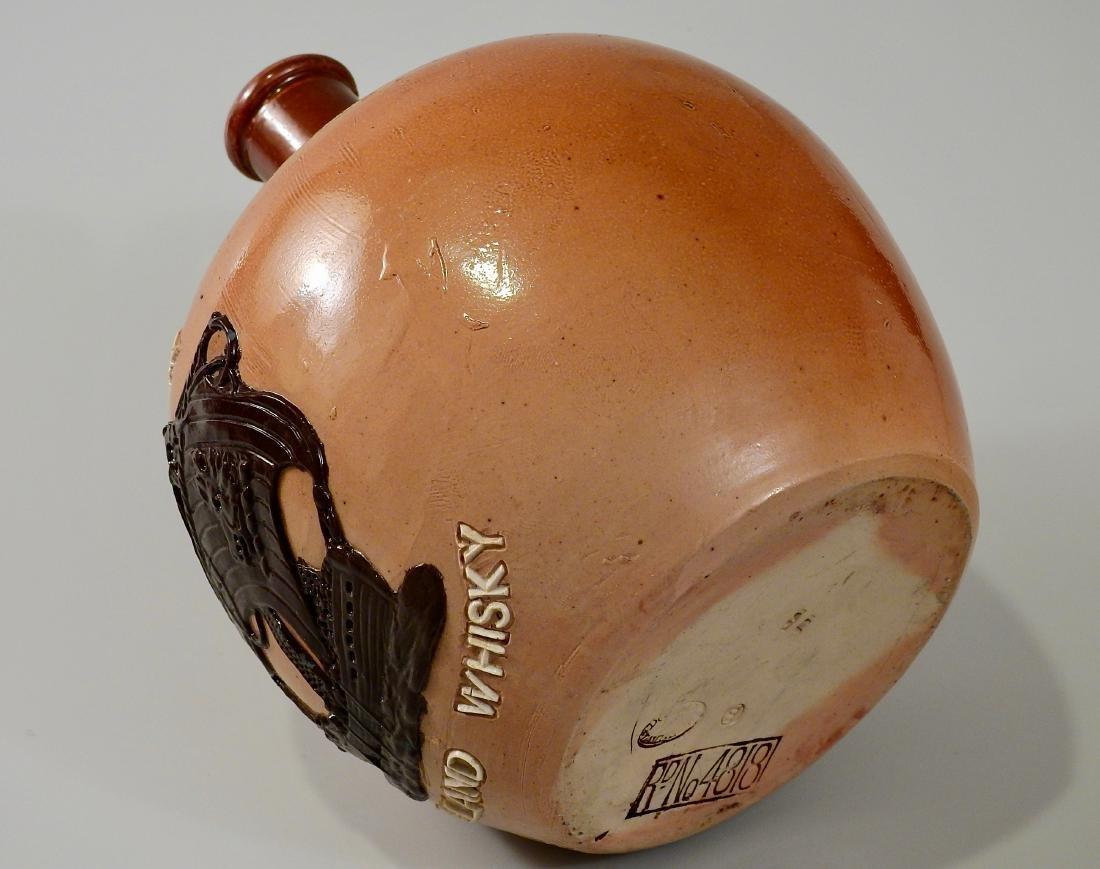 Doulton Lambeth Stoneware Pottery Flagon Highland - 5