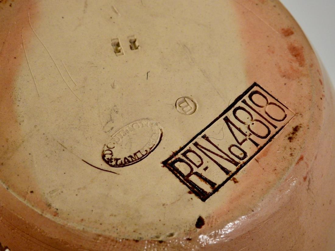 Doulton Lambeth Stoneware Pottery Flagon Highland - 6