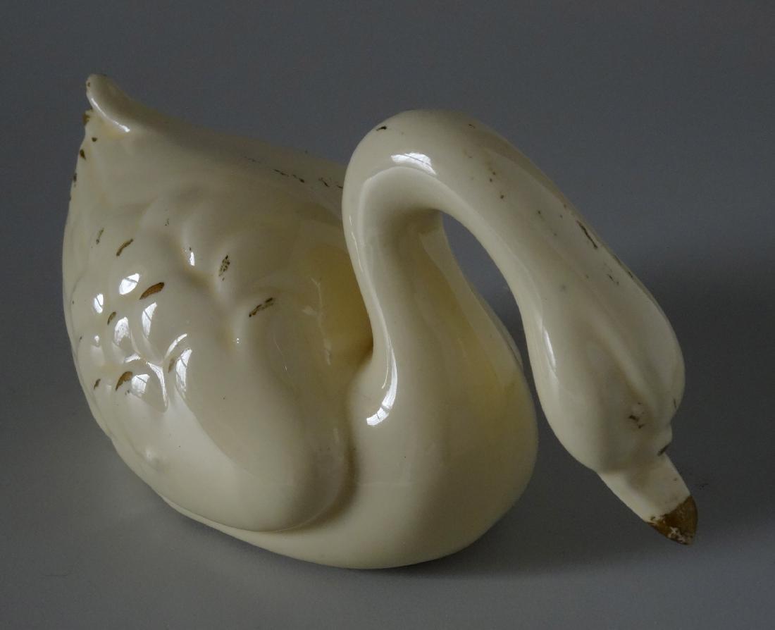 Vintage Art Deco Period Swan Figurine c 1930 - 2