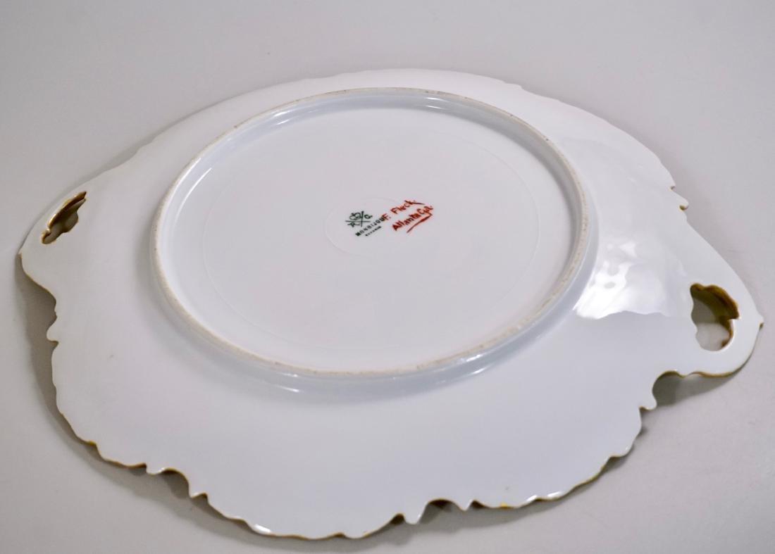 Rosenthal RC Monbijou Bavaria White Gold Cake Platter - 5