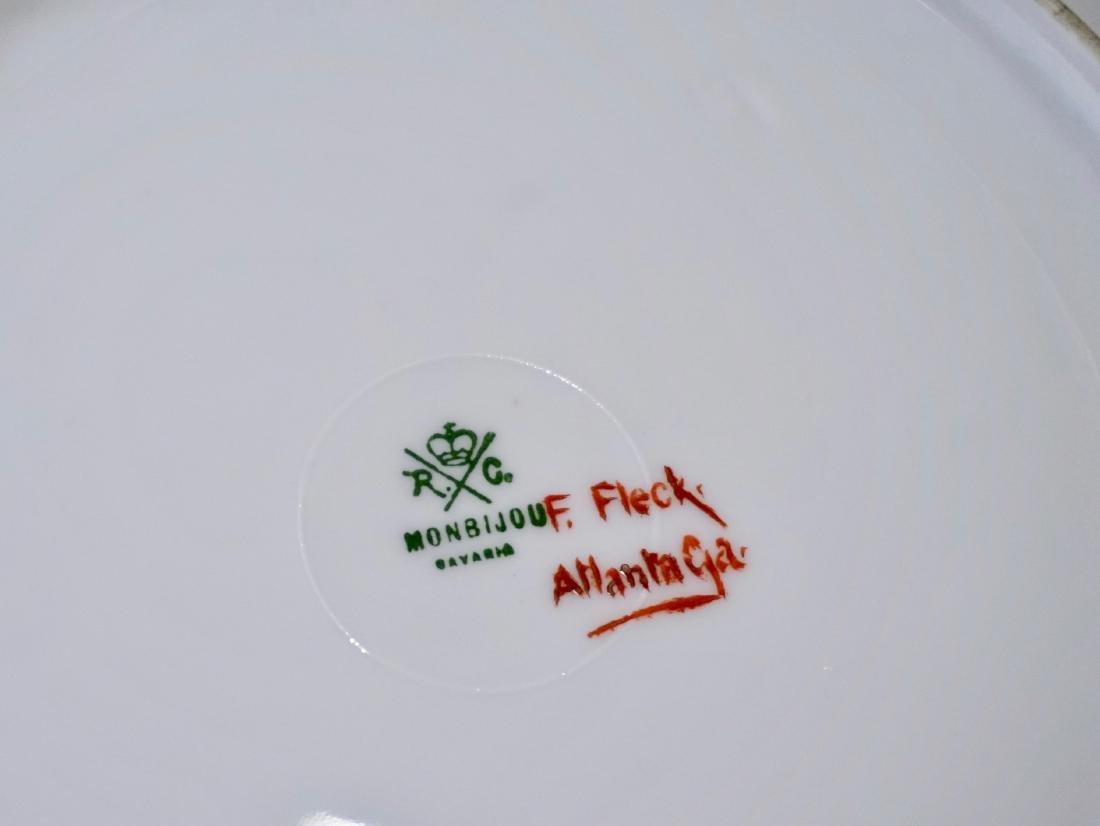 Rosenthal RC Monbijou Bavaria White Gold Cake Platter - 6