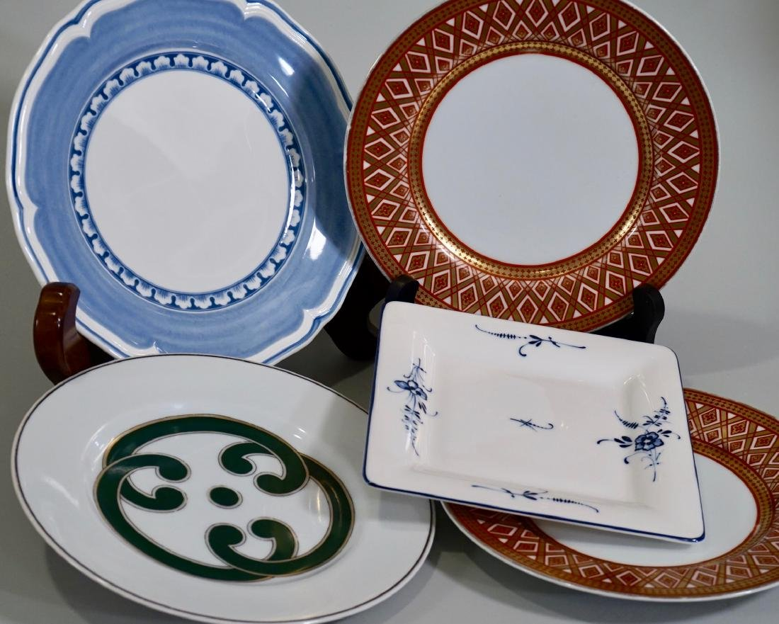 Villeroy Boch Fitz Floyd Plate Collection Lot of 5