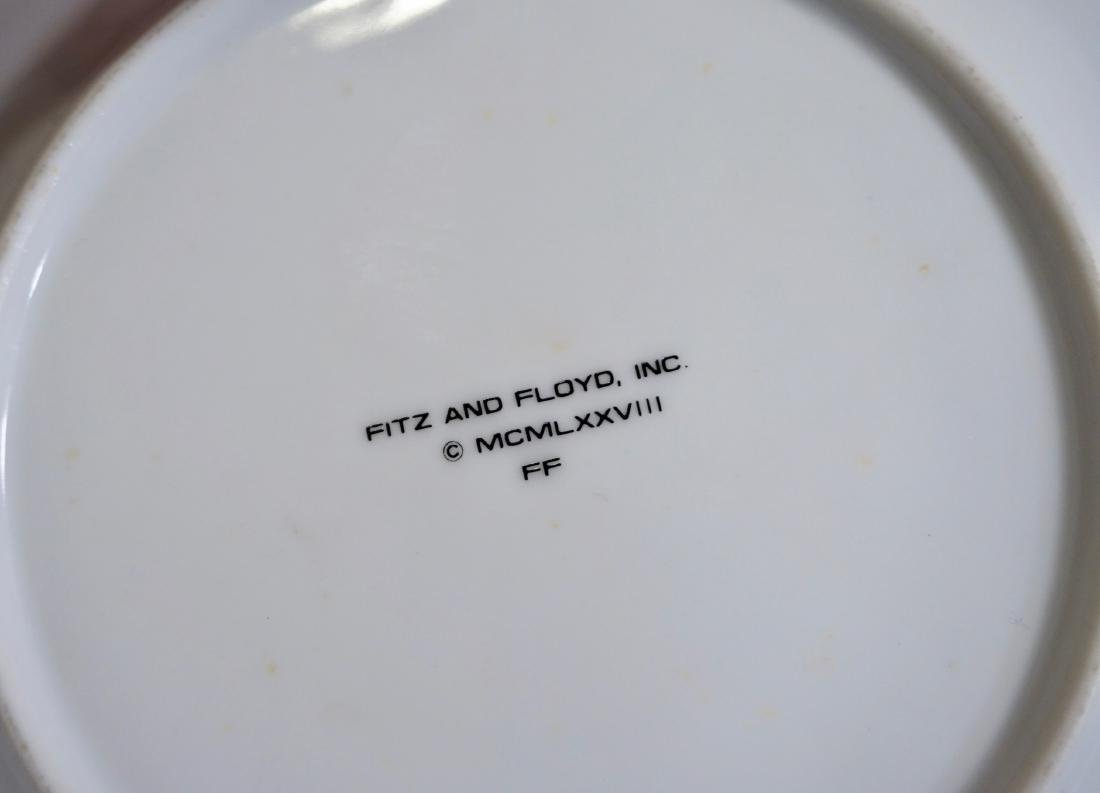 Villeroy Boch Fitz Floyd Plate Collection Lot of 5 - 5