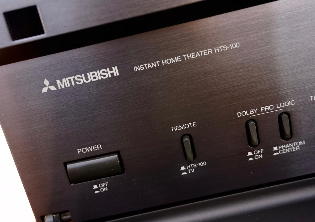 Mitsubishi Hts-100 Dolby Surround Instant Home Theater - 5