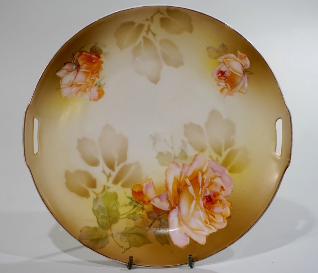 RS Germany Porcelain Cake Plate Reinhold Schlegelmilch