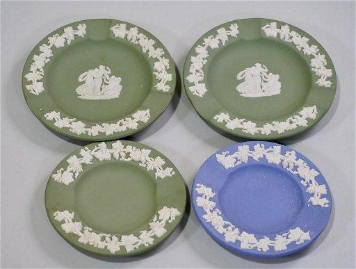 Wedgwood Jasperware Trinket Dish Lot Of