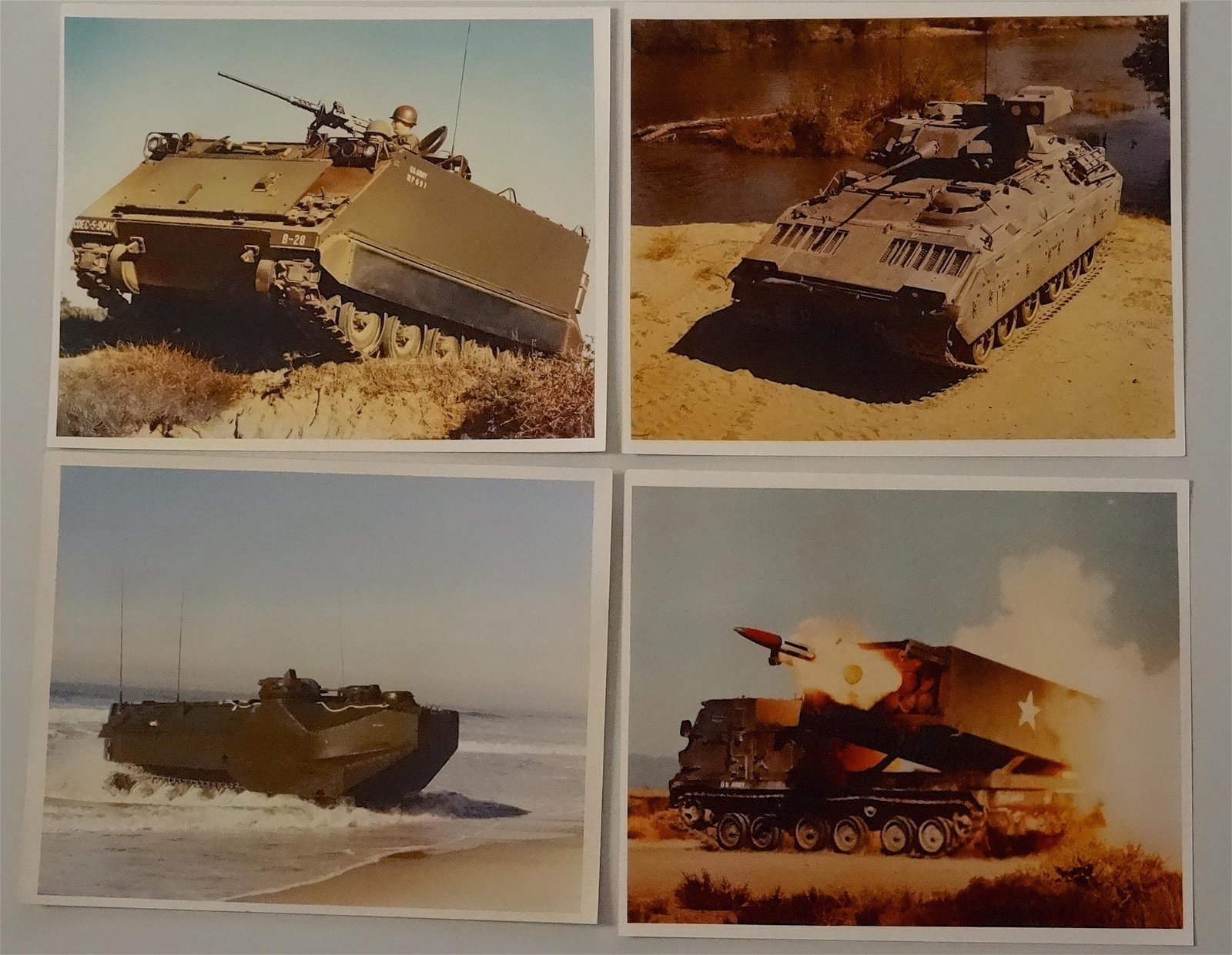 Original Vintage US Military Armored Vehicles Official