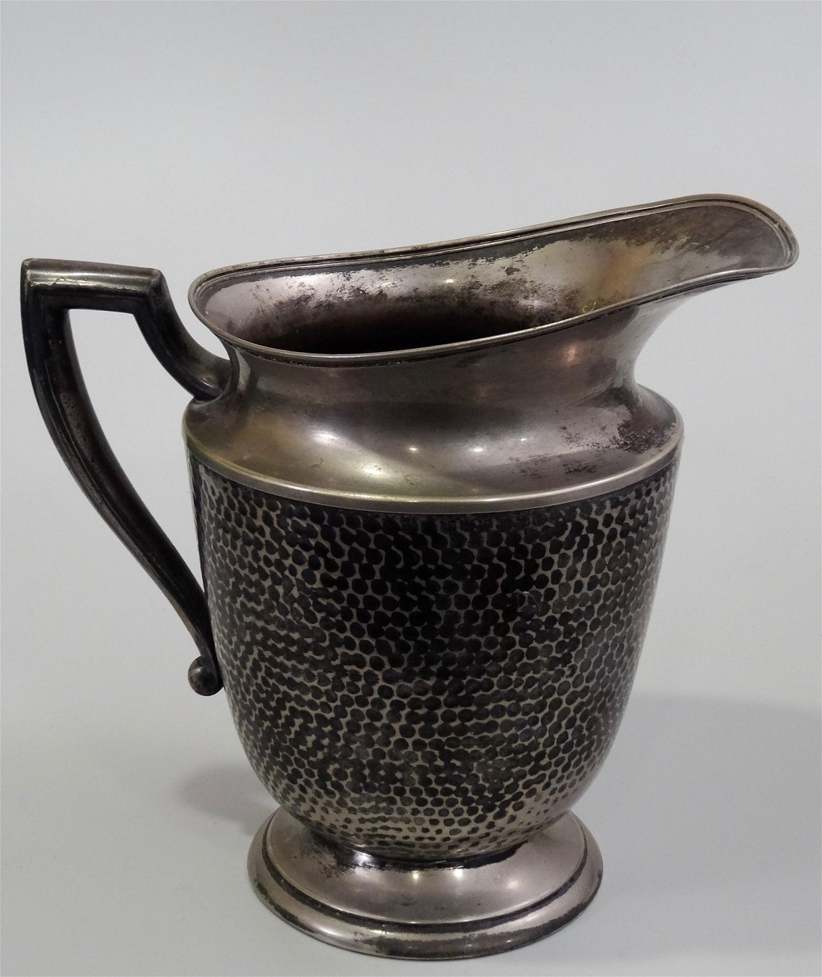 Antique Arts & Crafts Electroplated Nickel Silver
