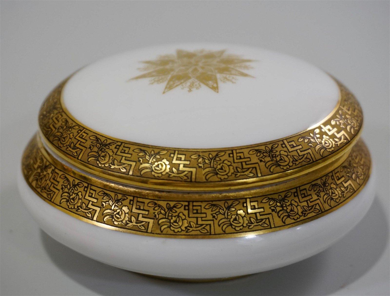 Astral Limoges Porcelain Vanity Box
