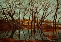 Lloyd Halman Parsons Still Waters Oil Painting Ferargil
