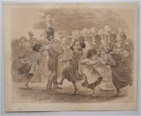 Rollinson Colburn Antique African American Print The