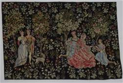 Medieval Style Needlepoint Tapestry
