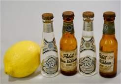 Miniature Beer Bottle Vintage Blatz Pabst Blue Ribbon