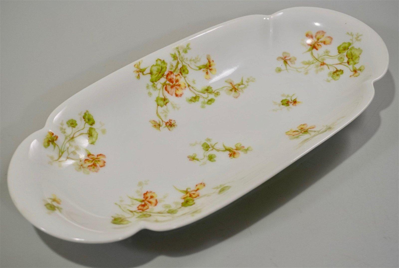 Haviland Limoges China Celery Dish France c1900 Antique