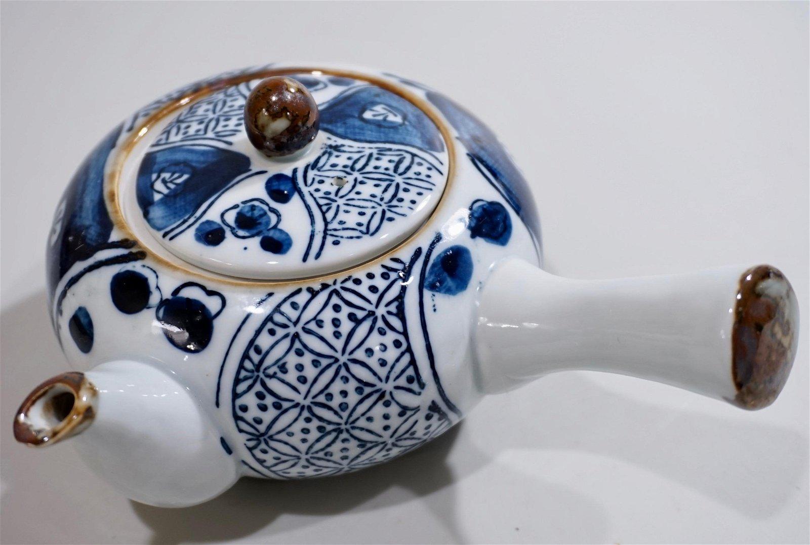 Oriental Pottery Teapot
