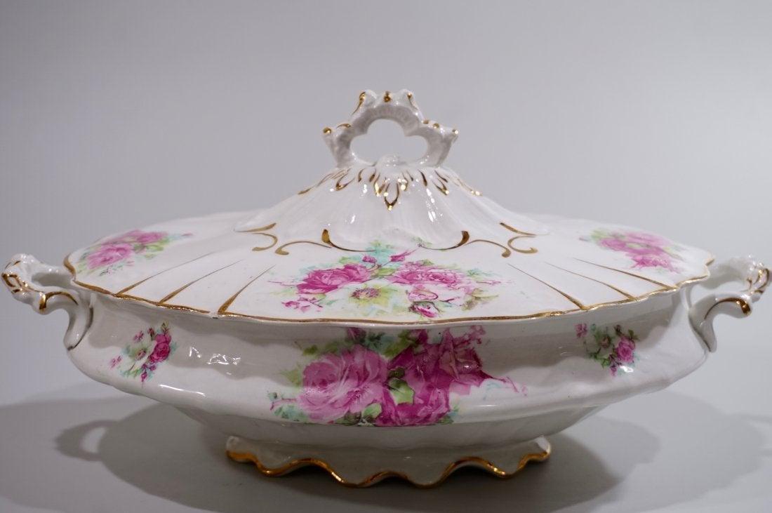 Vienna Victorian Roses Tureen Vintage China