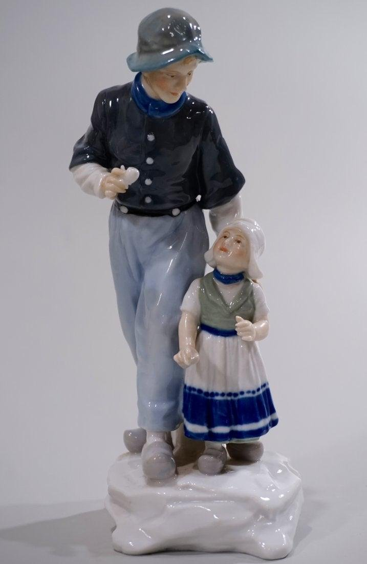 Antique Karl Ens Dutch Porcelain Figurine