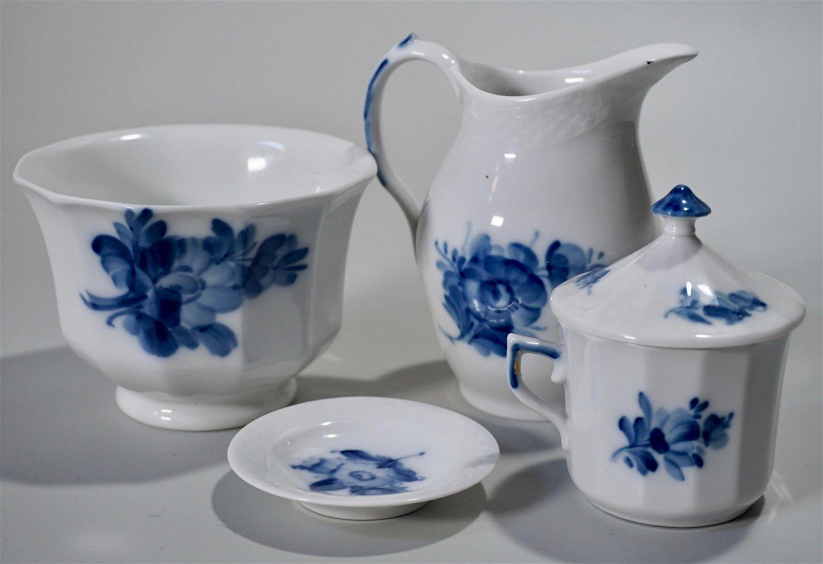 Royal Copenhagen Blue White Porcelain Hand Painted