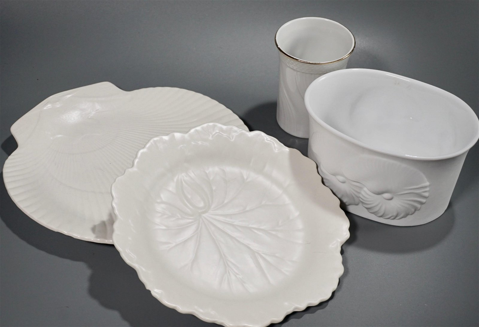 Lot of Blanc De Chine China Including Wedgwood of