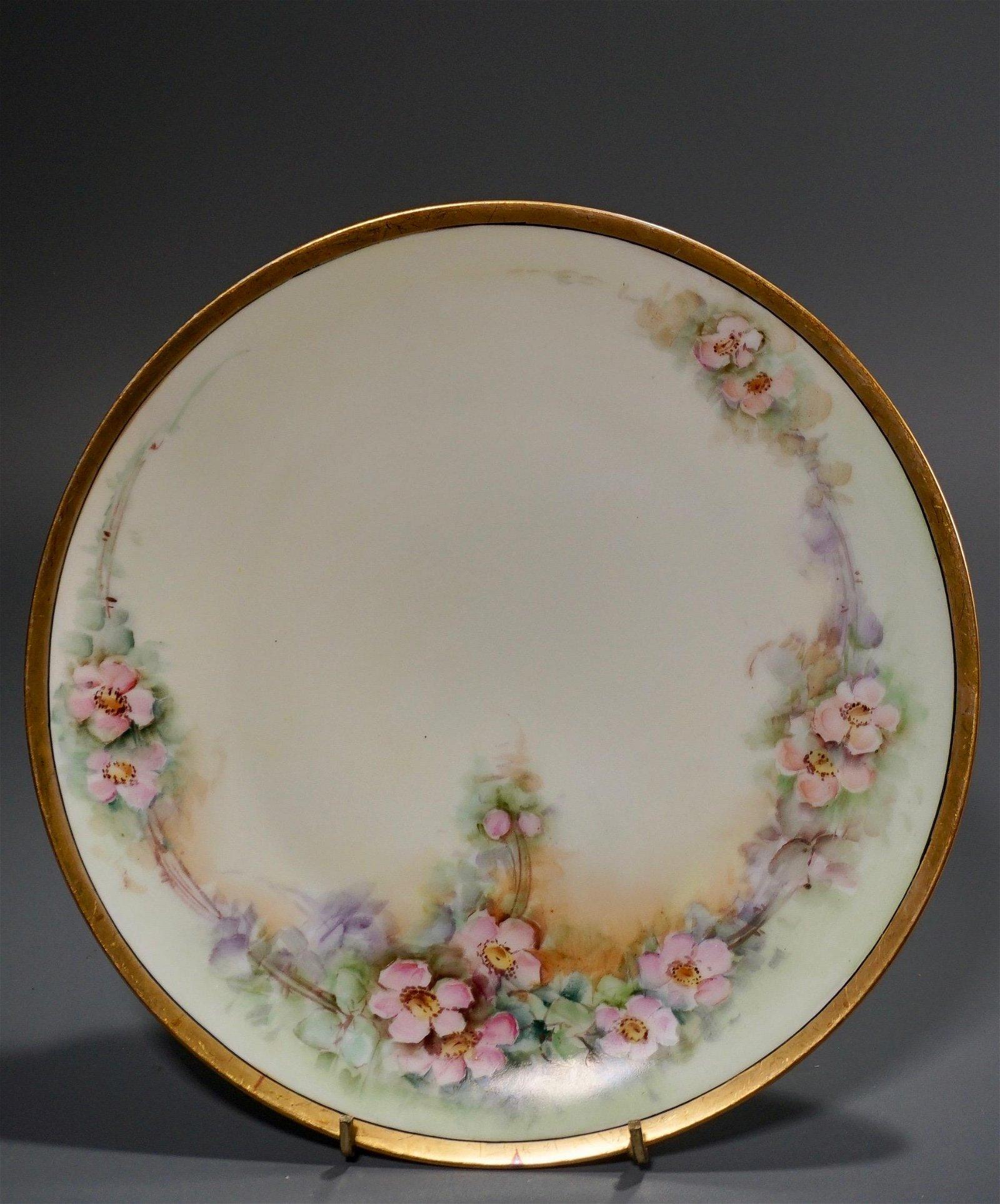Thomas Sevres Bavaria Hand Painted Porcelain Platter