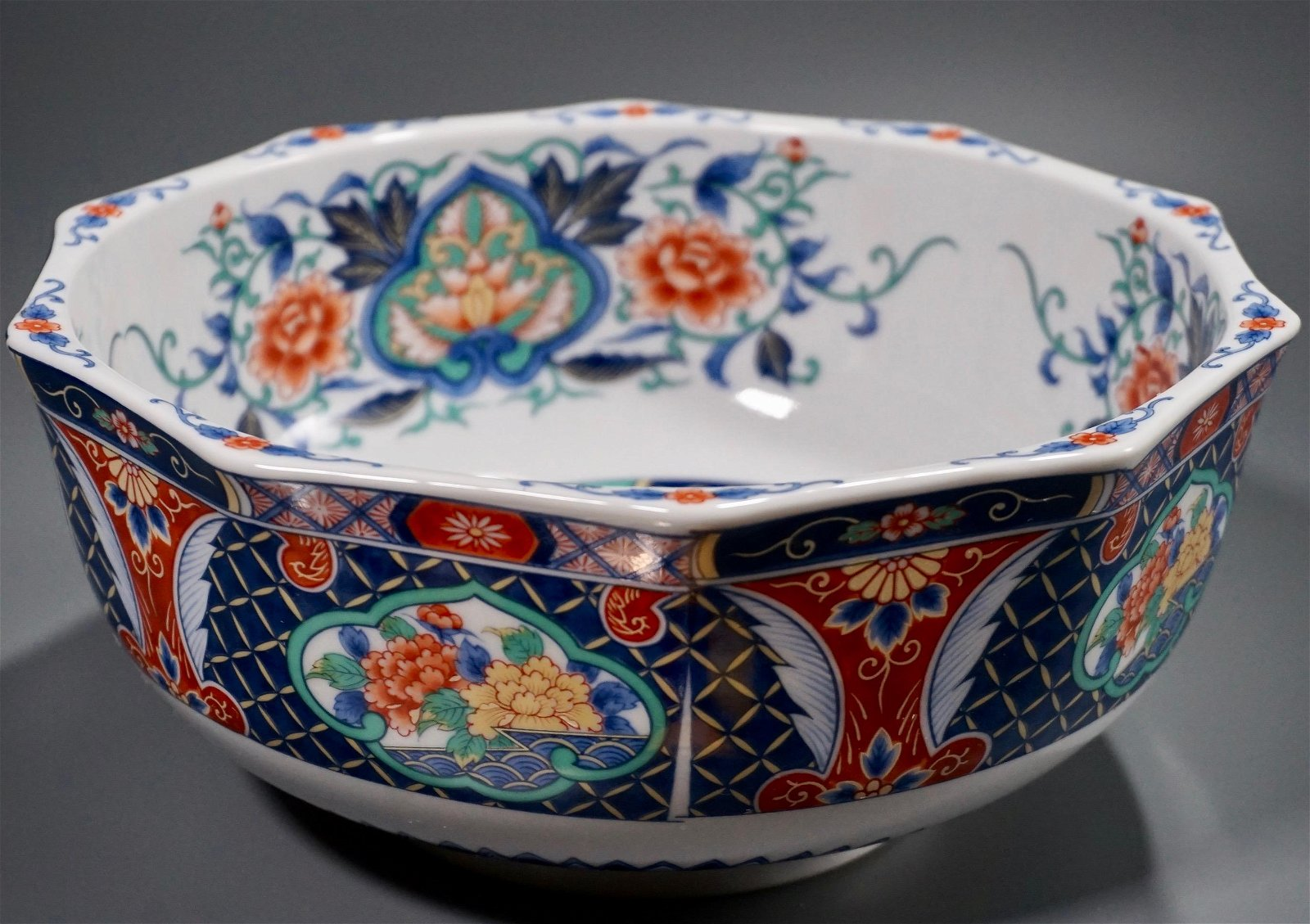 Japanesde Porcelain Bowl Old Stock Unused