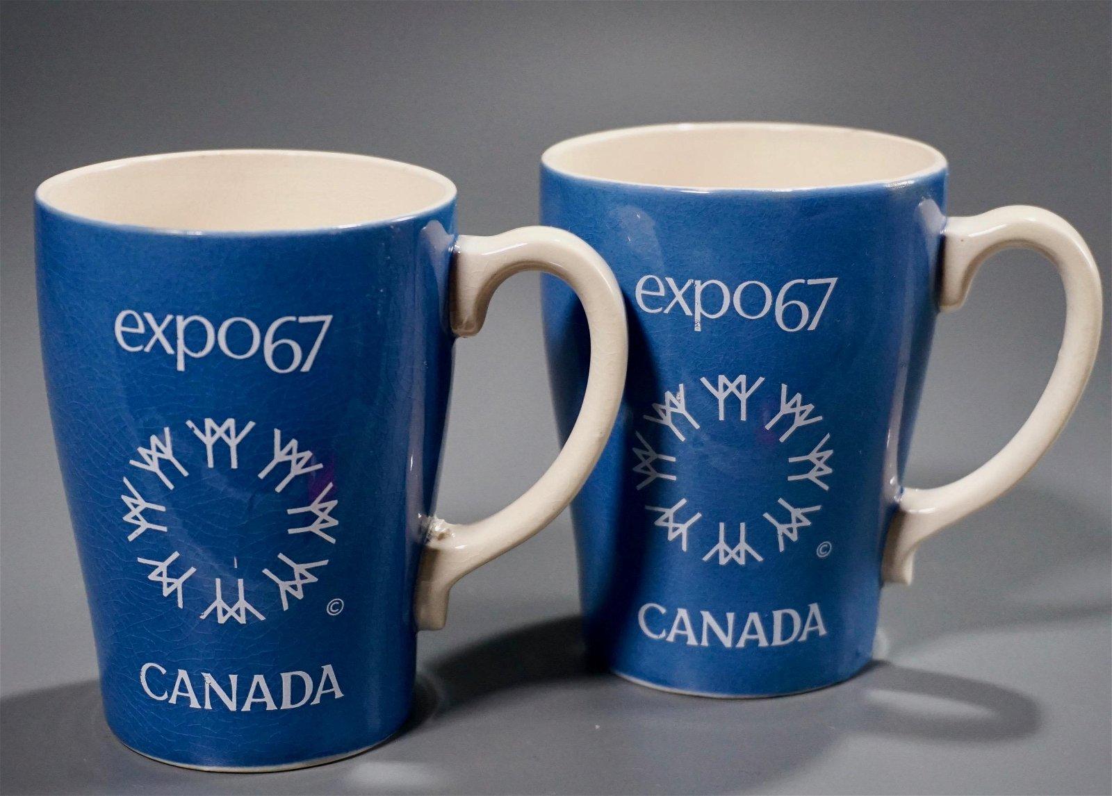 Expo 67 Vintage Souvenir Mug Sadler Made in England