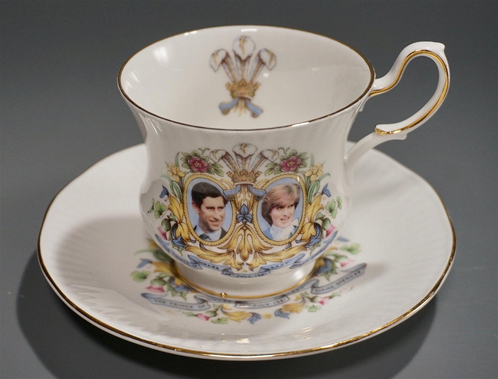 Lady Diana Prince of Wales Queens China Tea Cup Saucer