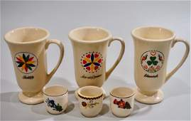 Whiskey Advertising Irish Coffee Mugs Ceramic Shot
