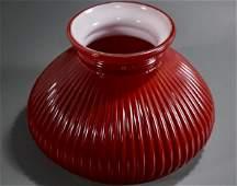 Red Vintage Kerosene Student Lamp Shade