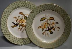 Hummingbird Colibri Porcelain Wall Plate Plaque Lot of
